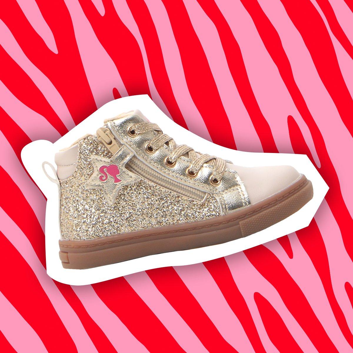 Le sneakers da bambina super glitterate e super co...