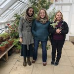 Thanks @CotoperiSweet for giving @Ethnobotanica & I a lovely tour of the gardens and glass houses at @BathSpaUni !