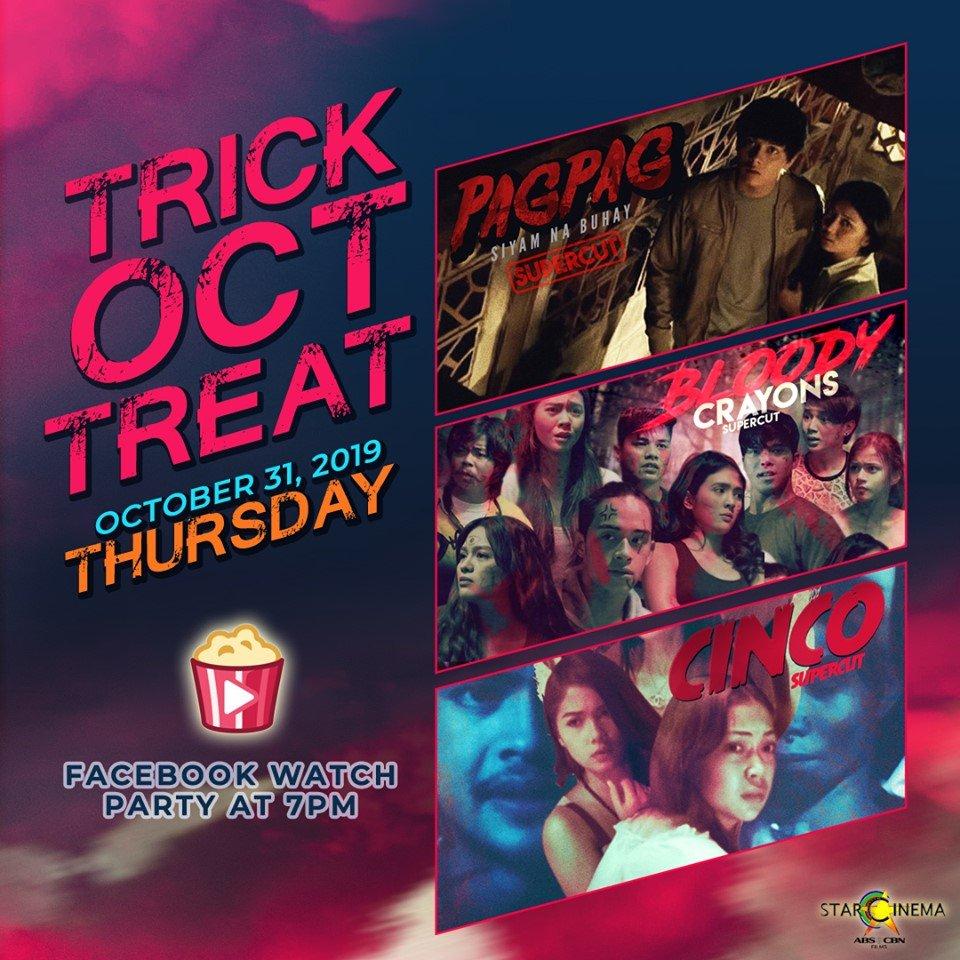 Enjoy ba kayo sa Spooky Facebook Watch Party kagabi? There's more tonight, 7PM! 👻