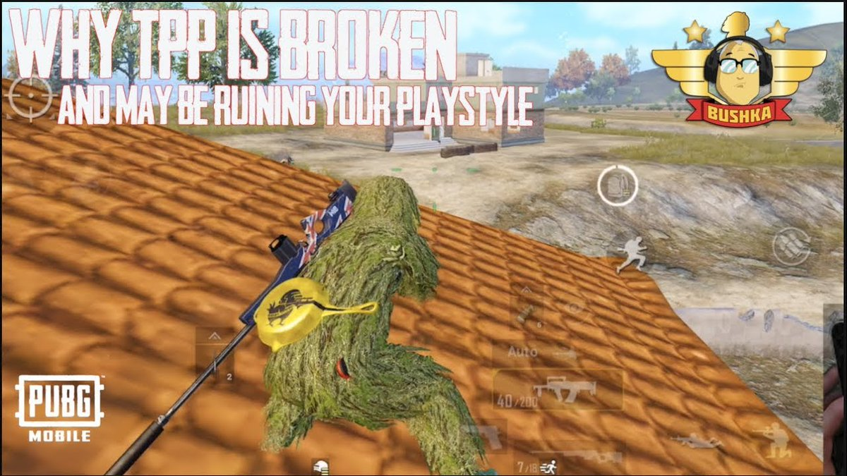 WHY TPP IS BROKEN & Could be ruining your playstyle Pubg Mobile thebushka  Link: http://tinyurl.com/y6ka74zk  #BESTMOBILEGAME2018 #BUSHKA #pubg #pubgmobile #PUBGMOBILEANDROID #PUBGMOBILEFUNNY #PUBGMOBILEGUIDE #PUBGMOBILEGUIDES #PUBGMOBILEIOS #PUBGMOBILELIVESTREAMpic.twitter.com/1LalKKfq14