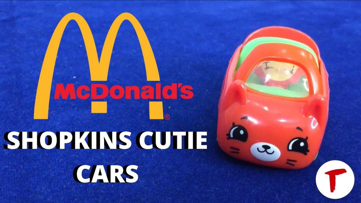 Such a cute toy  https://t.co/TMFHUI22B8  #HappyMeal #Toy #CutieCars https://t.co/I2CH5eSrvM