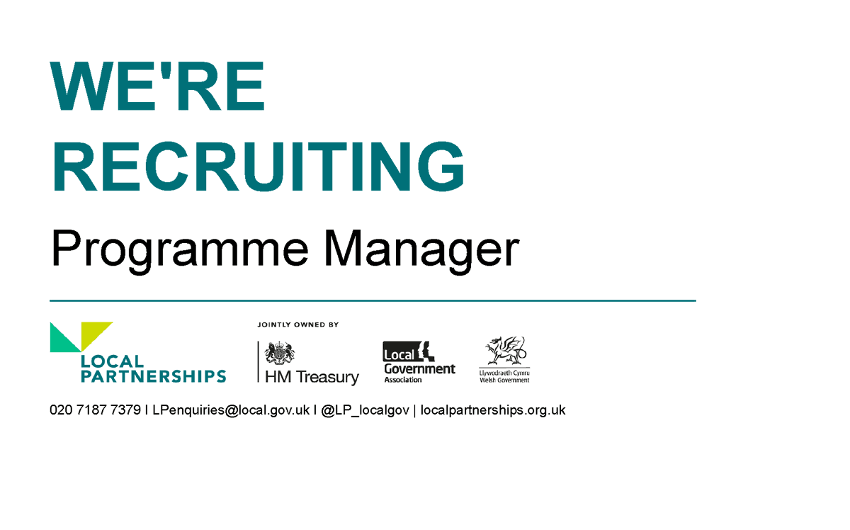 We're recruiting!  We're looking for a Programme Manager to join our London Office  More information: https://t.co/LckKRgKNQw