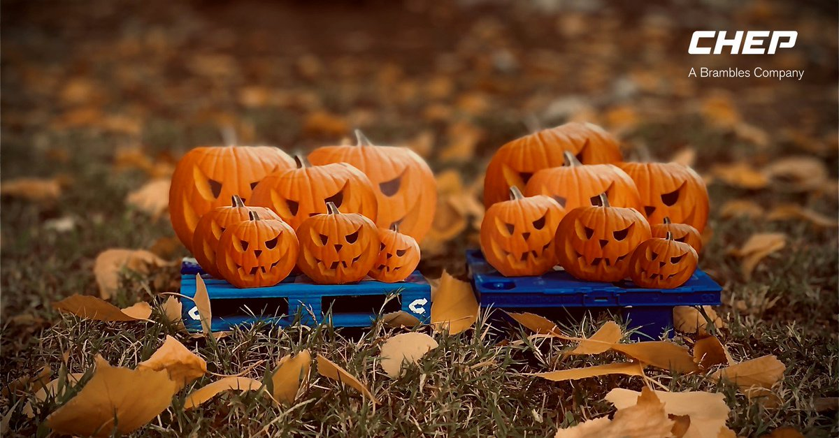 We'd love to say 'trick or treat' today, but the truth is, that there are no tricks at CHEP. We are all about treats! Happy #halloween   #CHEP #Supplychain #bluepallet #palletspic.twitter.com/Ji5CwuVerD