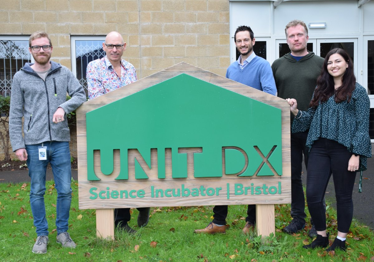 Congratulations to our @Unit_DX neighbours on closing their recent funding round! Great to part of such an innovative ecosystem. @rosabiotech #deeptech #innovation