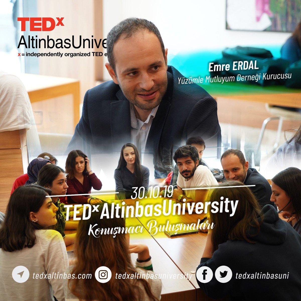 Dün ilk konuşmacı buluşmalarımızı @yuzumlemutluyum  derneği kurucusu Emre Erdal ile gerçekleştirdik. Etkinlik için sabırsızlanıyoruz! 😎