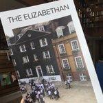 Image for the Tweet beginning: We edit the Elizabethan Magazine