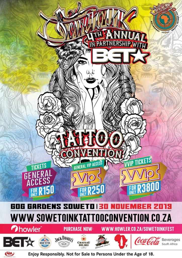 Soweto Ink Tattoo Convention Sowetoinkfest Twitter