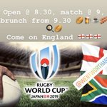Image for the Tweet beginning: Get your seats early 🏴🏉🍺🍳🥓☕️🏉🏴 #barnsleyisbrill