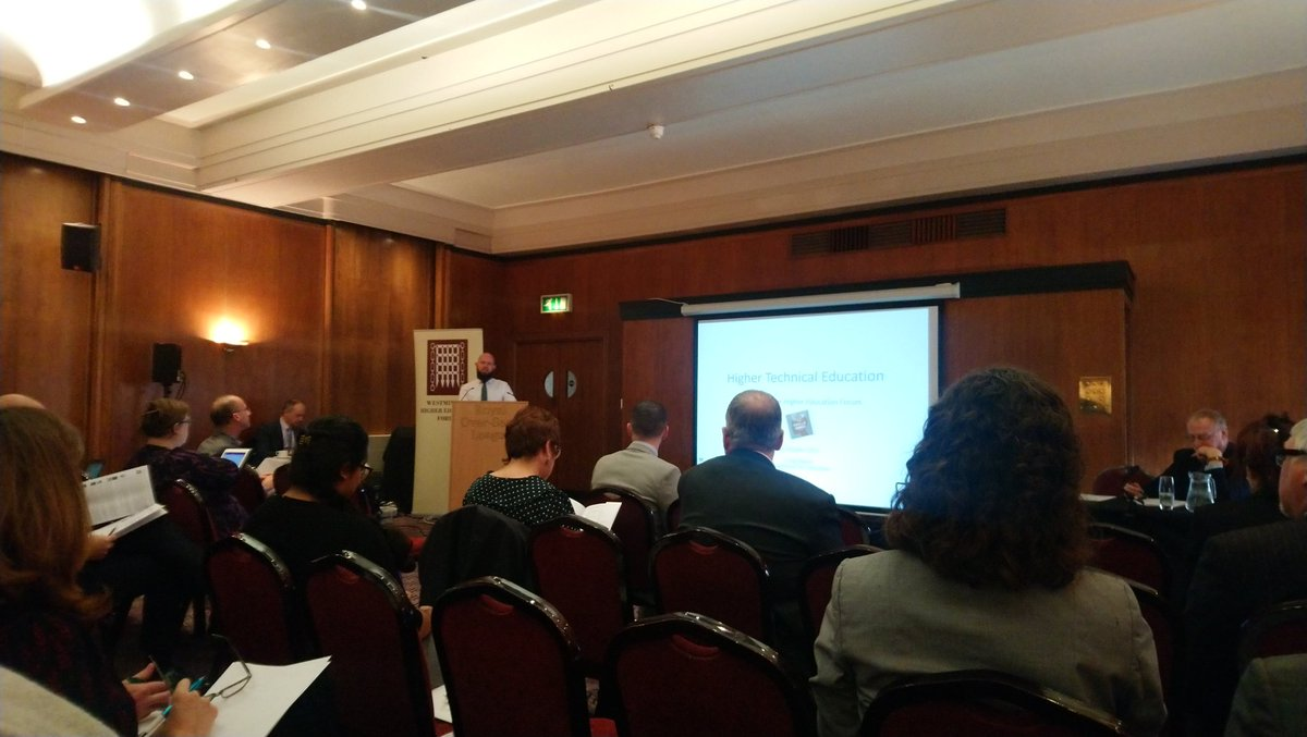 #WHEFEvents - hoping to engage in some interesting and engaging debate on higher technical education at todays forum.