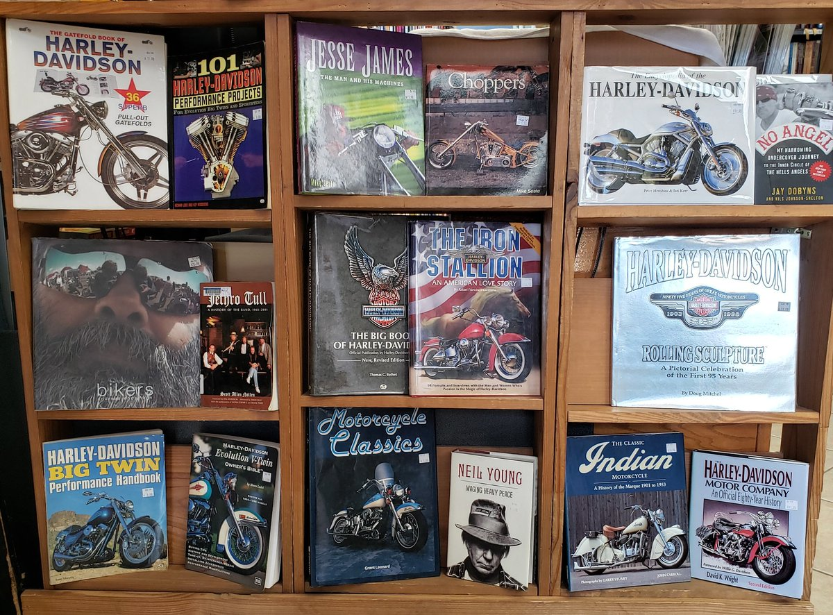 For Sale: Motorcycle Books and Related Literature 33% Off (today & tomorrow!)