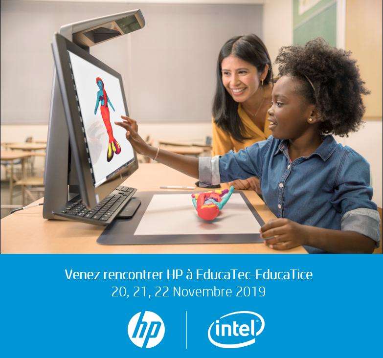 Venez découvrir nos technologies de collaboration, de créativité, de conception de 3D, de réalité virtuelle et les usages associés expérimentés par nos experts sur le salon EducaTec-EducaTice du 20 au 22 novembre 2019 ! Vous avez un projet ? https://t.co/PC9e1oGUp7 https://t.co/iEI3hw9ao1