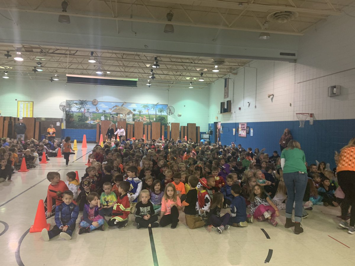 "Our annual ""Say Boo to Drugs"" assembly was another hit with our students. Happy Halloween!"