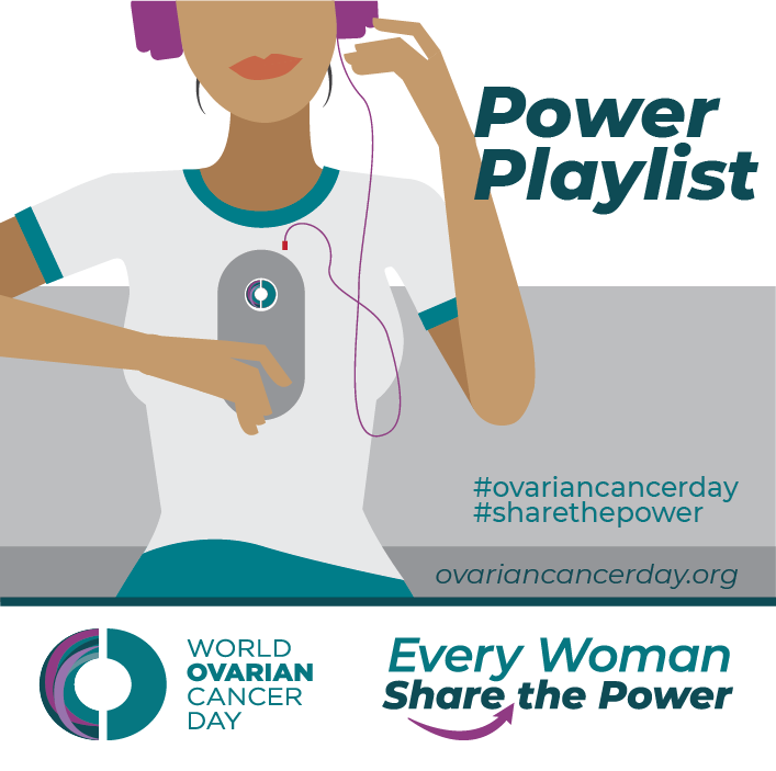 World Ovarian Cancer Day May 8 On Twitter Check Our Powerplaylist On Spotify Apple Music And Youtube Musictherapy Https T Co F6w0hgxlau