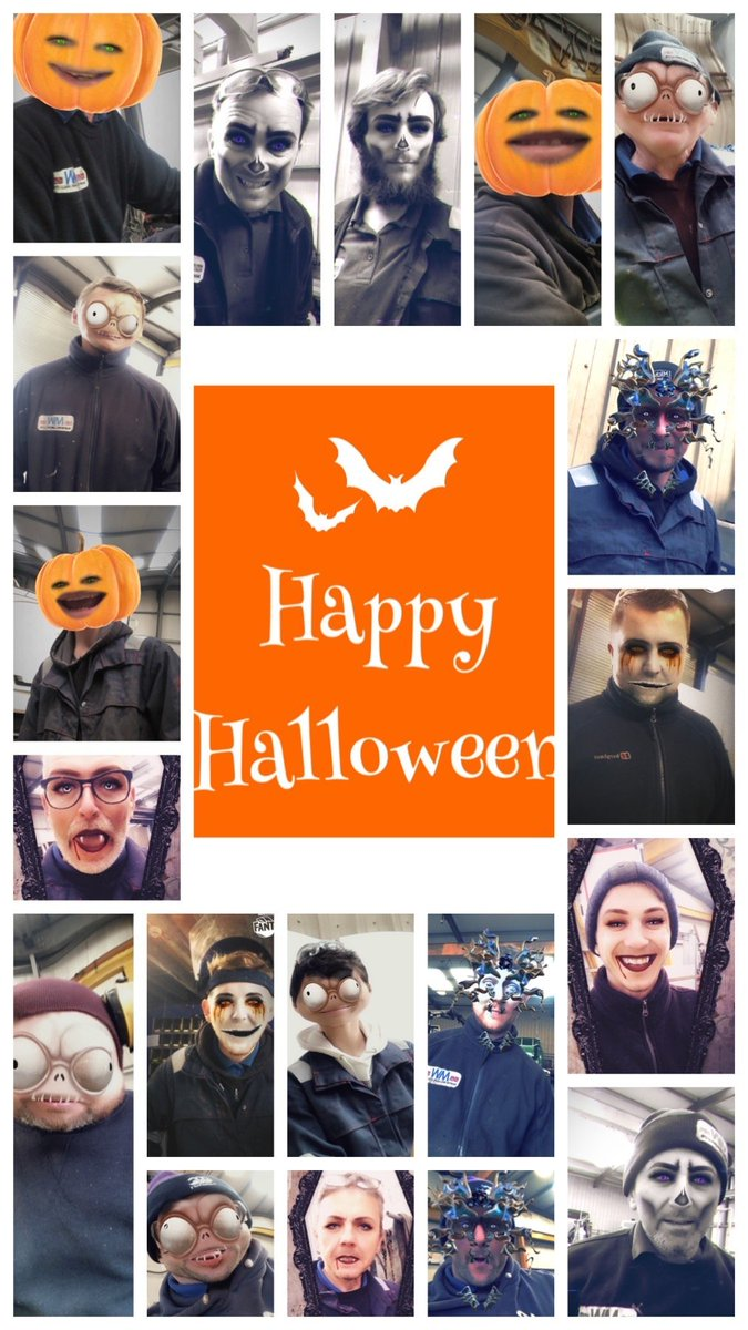 test Twitter Media - Argh our staff are looking abit spooky today....🎃💀👻🤣  #HappyHalloween #Halloween2019 https://t.co/EigvRqrR0r