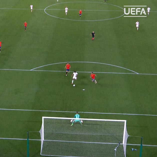 🥳 @MarcusRashford 🥳 Kane & Rashford combine in Seville 👏 #EURO2020 | @England