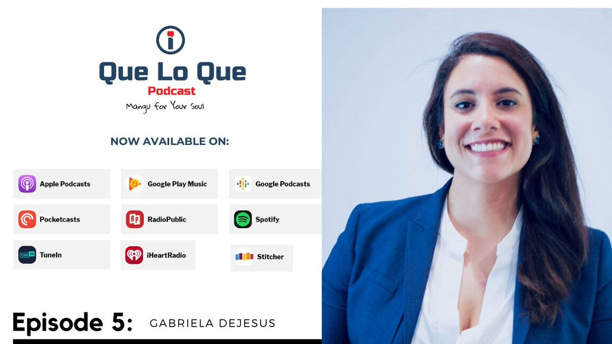 Yep, back with another episode, talking with @Gaby_2020FL about what it means to be a child of DR y PR, her activism as a student leader after Hurricane Maria and how her love of cooking and food is a potential gamechanger on the campaign trail.  https://appurl.io/VrjLMpgS7 #LATISM