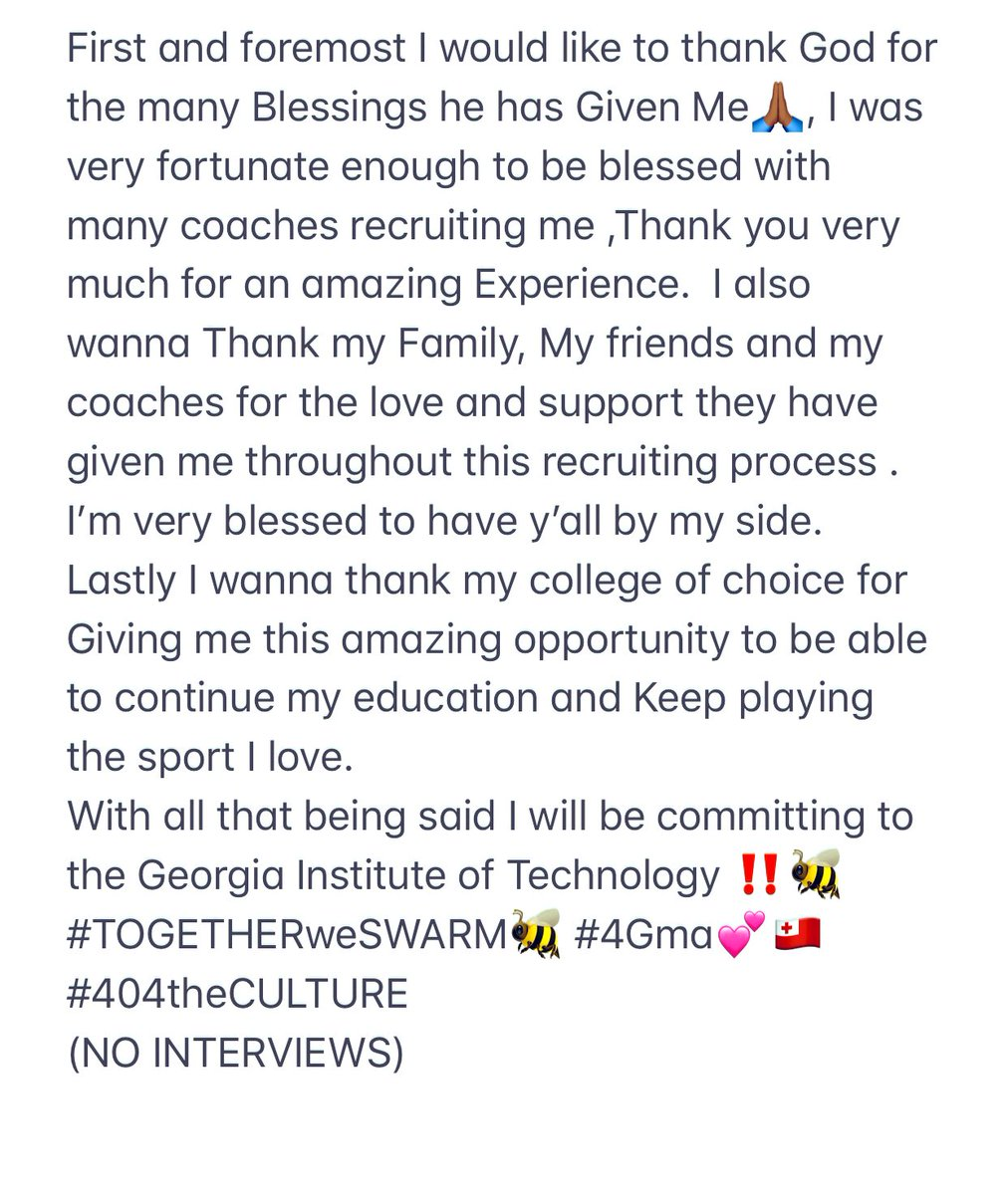 AG2G🙏🏾,IM HOME‼️‼️ #COMMITTED🤩 #TOGETHERweSwarm🐝 #404theCULTURE #4Gma💕 #MMT🇹🇴 #CvFootball🦅
