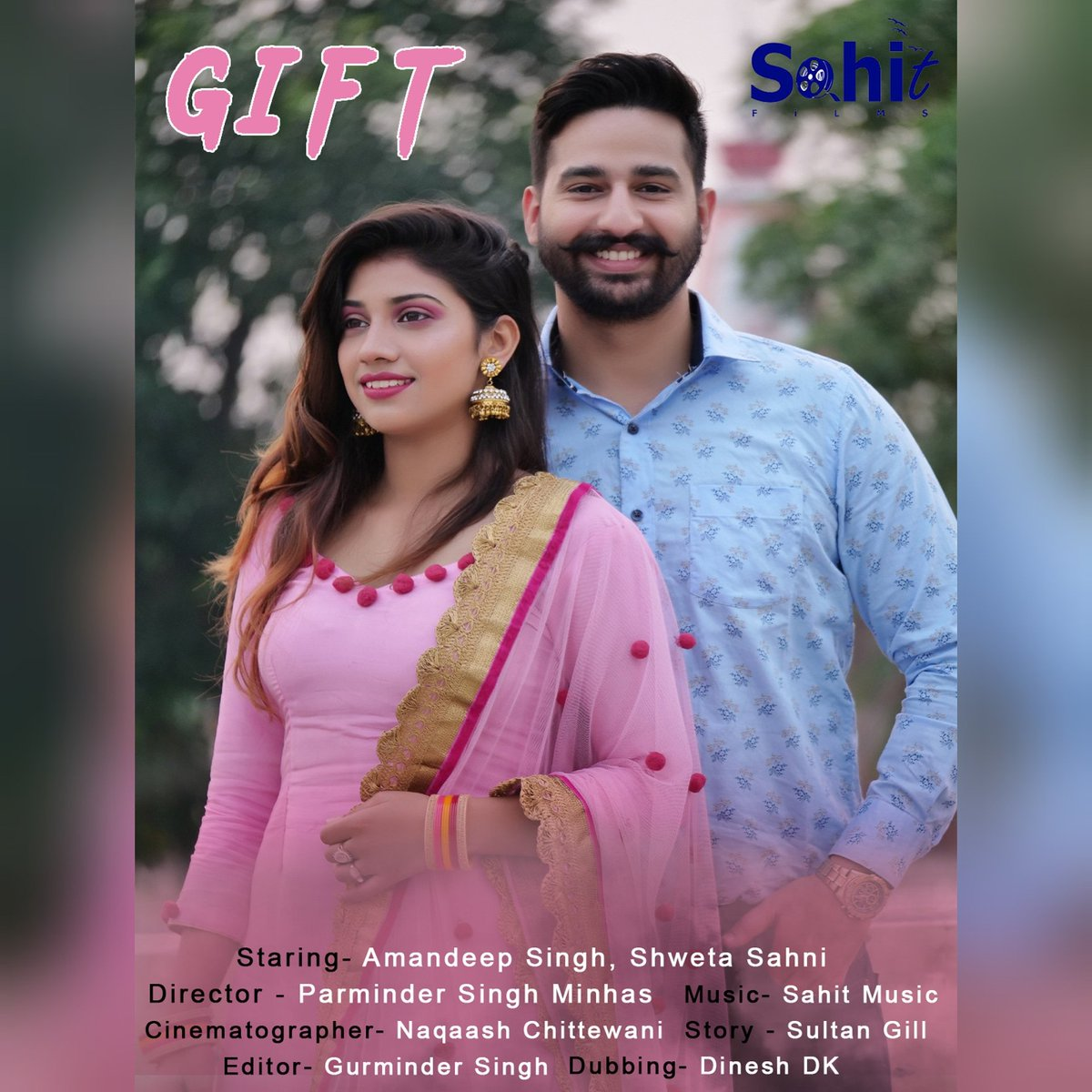 In life one day a #gift become so important which change life. Make you and you love one life so good  @sahitfilms #gift #sahitfilms #shortfilm #punjabi #poster #pollywood #sahitmusic @Minhasparminde1 @YouTubeIndia   #punjabimodels pic.twitter.com/w11VDNlAhj
