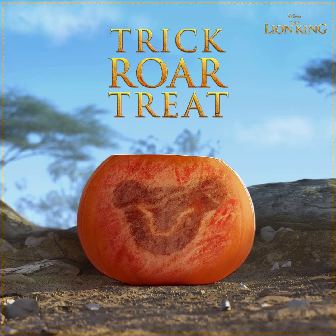 Dont be a scaredy cat! #HappyHalloween #TheLionKing