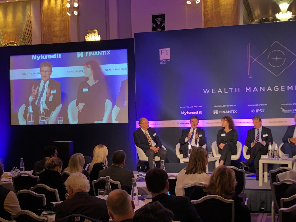 """What we saw at the recent #BuildingBridges event in Geneva is how important it is to bring together all competences to discuss the way forward. #Sustainability is part of our DNA and we strongly believe in the impact of the Sustainability Revolution"" said Patrick Odier @FT_PWM"