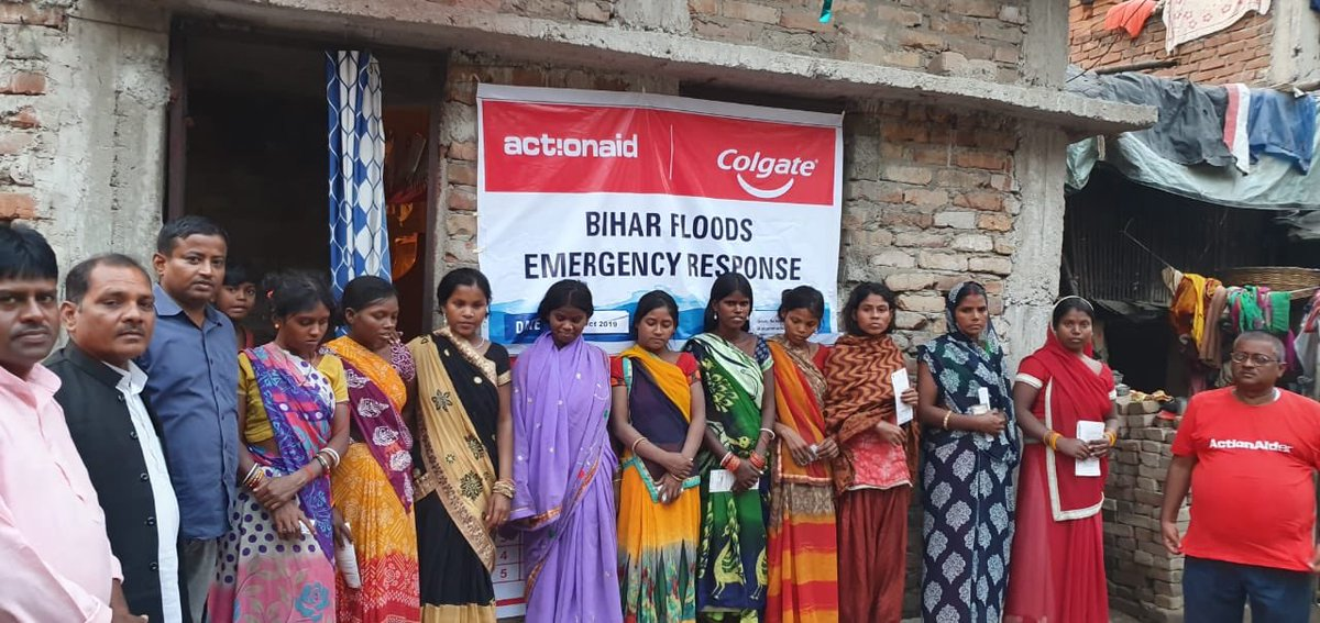 As part of our emergency response to #BiharFloods, with support from @Colgate, we reached out to 350 flood-affected families with hygiene kits in Patna Urban.<br>http://pic.twitter.com/0IrtoA1L14