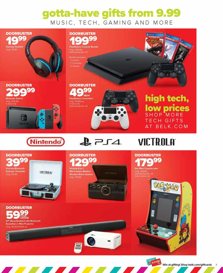 Leaked Black Friday Ad Reveals Excellent PS4 Bundle (US) - GameSpot