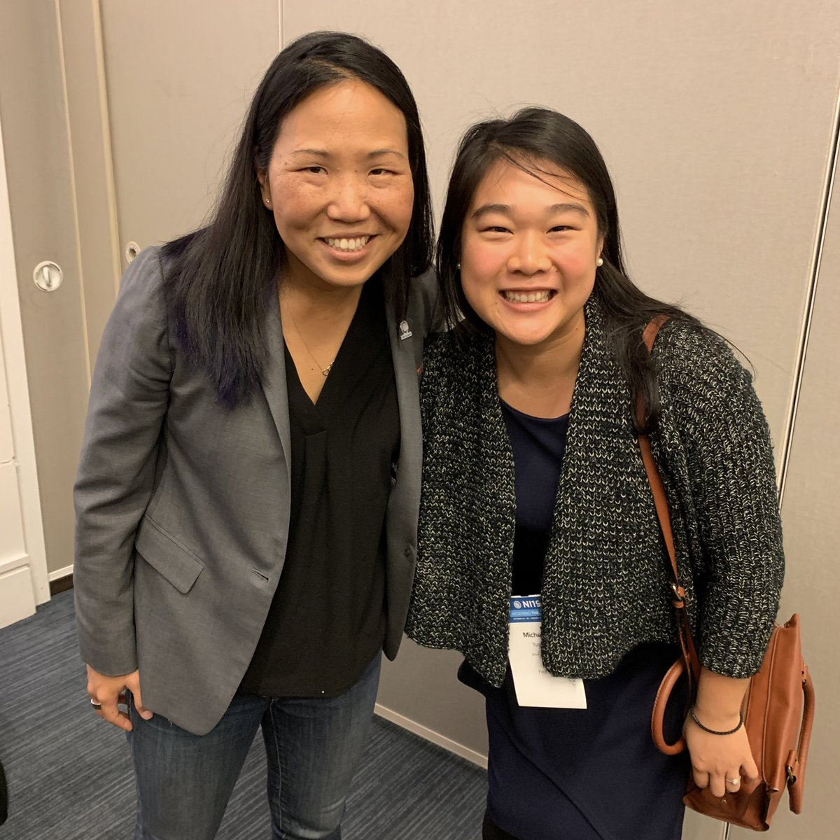 #TBT finally connecting in real life with @EarthAcumen of @FedEx at last week's @netimpact conference in Detroit! #Tweeps2Peeps #NI19 cc: @AndreaLearned @KoboriGrillsCSR @SusanHeaney