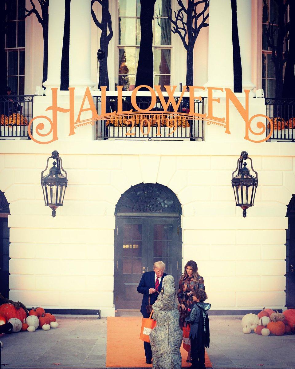 Trick-or-Treat @WhiteHouse #Halloween2019