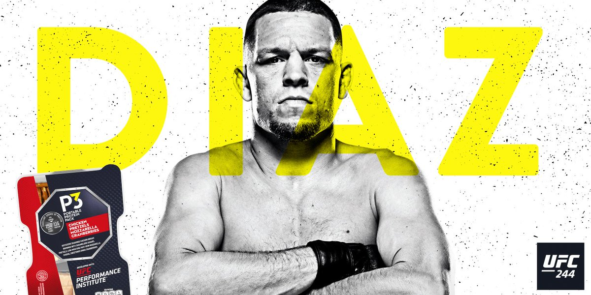 .@NateDiaz209 made the main event at #UFC244⁠ ⁠happen by calling out the only person he thought worthy. You already know he's a beast, but here's 3 more tasty facts. 🏆Winner of The Ultimate Fighter 5 🛑Ended Conor McGregor's 5 year win streak in 2016 👶Made his pro debut at 19 https://t.co/0T4VPsRIEg