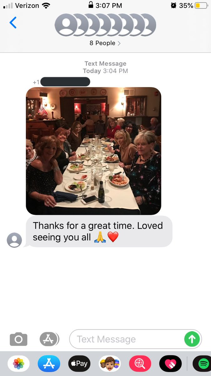 so I was accidentally placed in a group chat with these ladies...and I'm sorry barb... LMAO https://t.co/y50Ke0JoVh