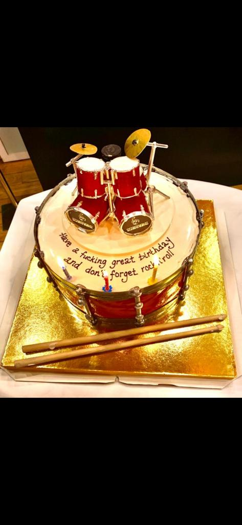 Remarkable Mikkey Dee On Twitter Coolest Birthday Cake Ever Funny Birthday Cards Online Aboleapandamsfinfo