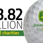 Image for the Tweet beginning: $13.82 MILLION TO 542 charities!  Well