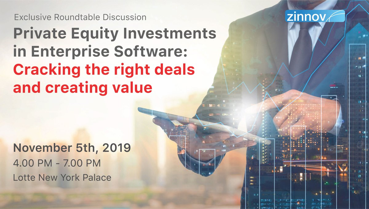 The #EnterpriseSoftware industry in the US alone has generated a revenue of $134 Bn in 2018. Given this scenario, what are the specific areas that are most promising in Enterprise Software? Get your answers at the #ZinnovRoundtable on #PE. Register here: http://bit.ly/2OUrYOC