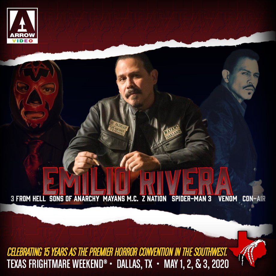 """Anarchy Nation Pictures texas frightmare wkd on twitter: """"let's welcome emilio"""