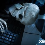 Image for the Tweet beginning: Happy Halloween from #TeamXerox! Don't