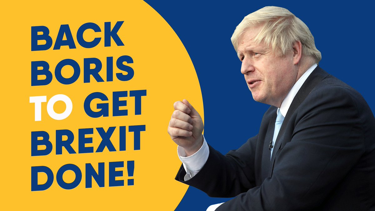 #BackBoris now to get Brexit done. Only @BorisJohnson can take our country forward and deliver on the peoples priorities. RT to show your support.