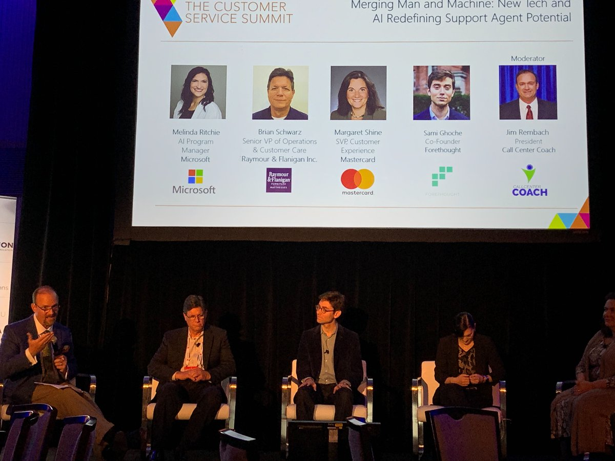 A little #Tbt featuring our cofounder Sami Ghoche on stage last week at #InciteNYC alongside @Mastercard and @Microsoft. Sami shared his favorite agent stories and how he teaches Support Agents to use deep learning in their workflows. #Customersupport #ai
