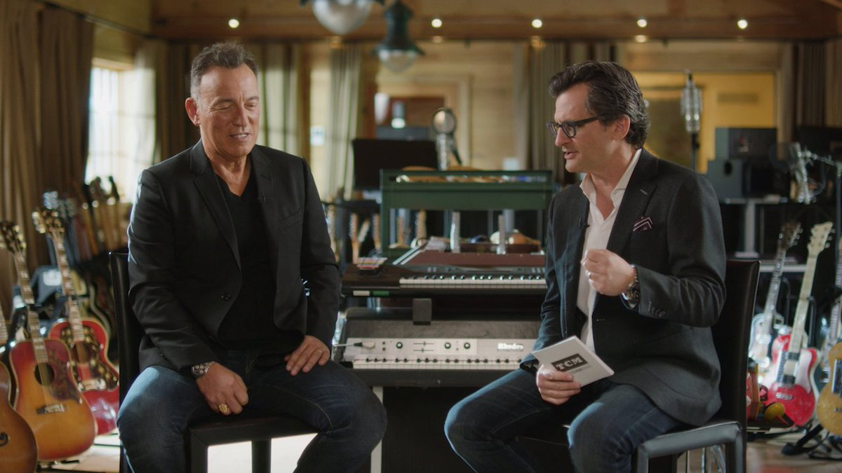 #BruceSpringsteen shares what it was like meeting Frank Sinatra for the first time with @BenMank77. Join us on 11/2 at 3:30pm ET as Bruce and Ben discuss classic film, his new movie #WesternStarsMovie, and more! Read about the special event here: myt.cm/ijtyyw