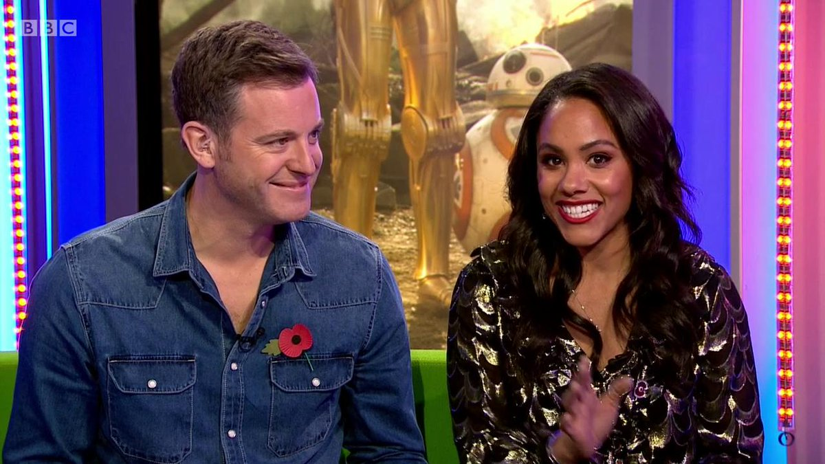 Matt Baker and @AlexScott hear how Star Wars director @jjabrams told @ADaniels3PO youll either love or hate this movie. So which one is to be? 🧐 #TheOneShow