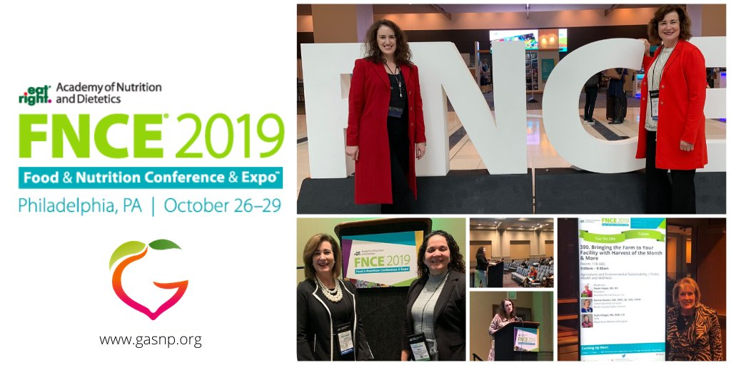 Gadoe Nutrition On Twitter The State Of Georgia Was Well Represented At The Eatrightfnce In Philadelphia Pa Earlier This Week Great Job To All These Ladies For Representing Georgia School Nutrition So