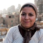 Image for the Tweet beginning: Egyptian activist and #journalist Esraa