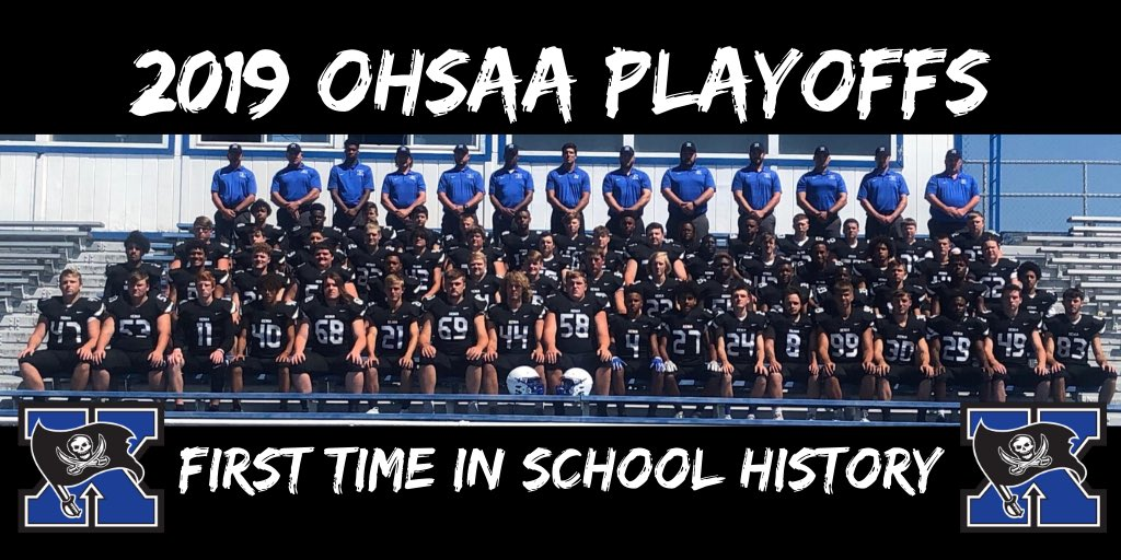 """Winners"" Xenia 42 Fairborn 0 Xenia clinches their first ever playoff appearance in school history! @XeniaSupt @XeniaSchools @MVLathletics @OhioF50"