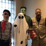 A ghastly good time! The entire Quell team had a spooktacular Halloween lunch, complete with games and a costume contest. Additionally, Quellies Brandon, Catherine and Eric volunteered @ the St. Vincent and Sarah Fisher Center Halloween event in Detroit last night. @SVSFCenter🎃