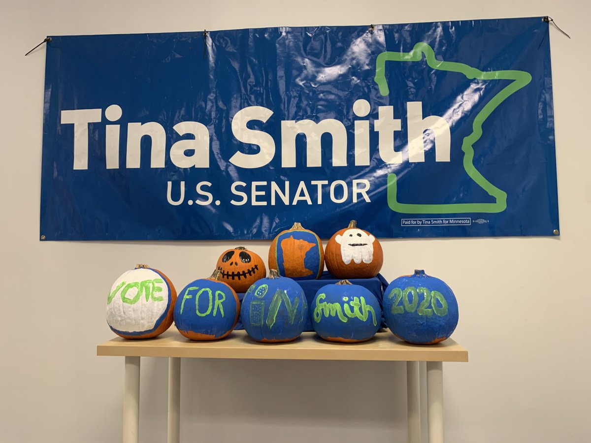 Pumpkins, taking back the Senate, and 2020 -- oh my!