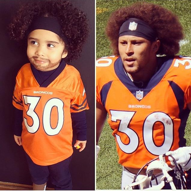 Happy Halloween from the Colorado Kid!!! @I_CU_boy  @Broncos  @9NEWS  @CBSDenver  @DenverChannel  @KDVR  @1043TheFan  @NFL  @nflnetwork  #halloween2019  #nflhalloween  #philliplindsay  #philliplindsay30  #broncos  #BroncosCountry  #DenverBroncos4life