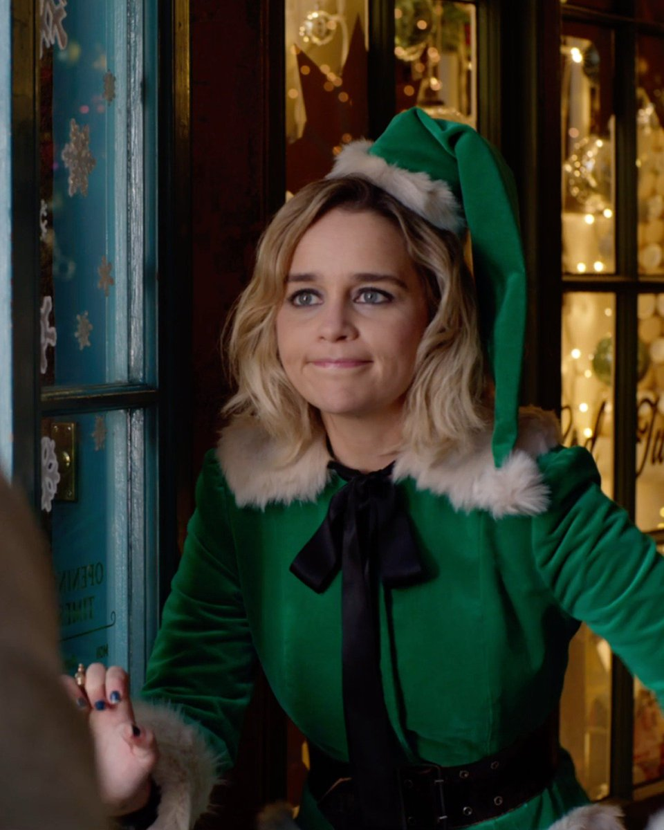 Everyone deserves some holiday cheer. From Director @paulfeig comes #LastChristmasMovie, starring @emiliaclarke and @henrygolding - in theaters November 8.