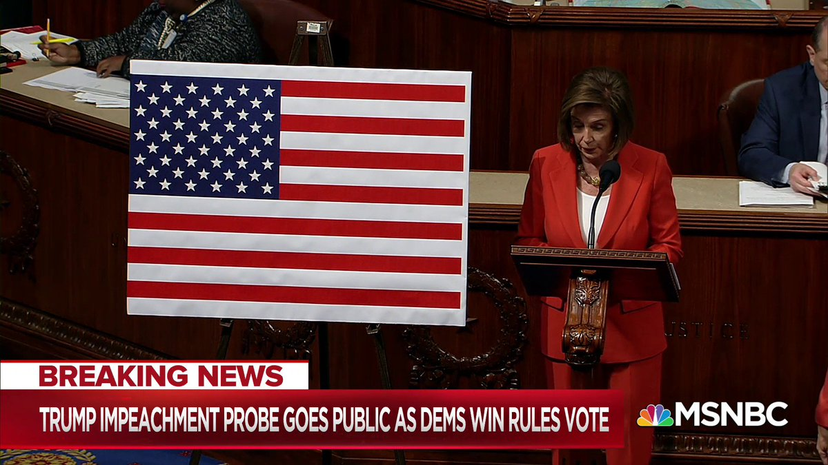WATCH: As Dems are closer than impeaching President Trump than ever before, House leaders pleaded their case saying the American Democracy is at stake.