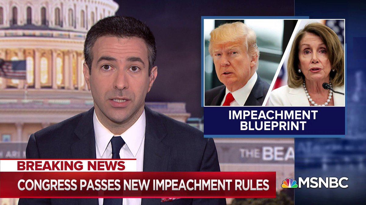 What do we know about todays impeachment inquiry vote? @AriMelber explains the key takeaways: 1) The vote moves the investigation into a public phase 2) The vote forced politicians to reveal where they stand 3) And, it exposes Trumps objections and bluff on stonewalling