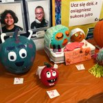 Image for the Tweet beginning: This year's pumpkin contest was