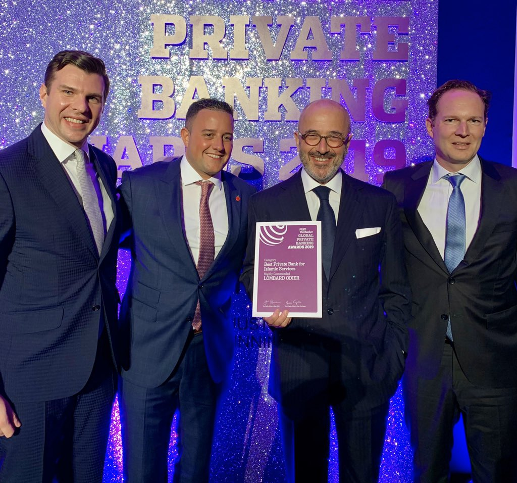 The strength of our Islamic offering has been highly commended @FT @TheBanker Global Private Banking Awards! This award is an important recognition of our expertise in the field of Islamic services & commitment. #GPBA2019